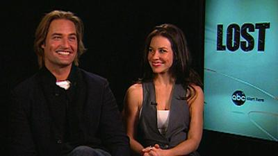 Josh Holloway And Evangeline Lilly On Final Season Of 'Lost'