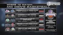 Where to Watch MW Men's Basketball 3/7/15