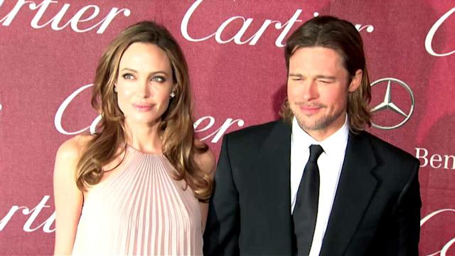 Brad Pitt Says it's Business As Usual for Angelina Jolie