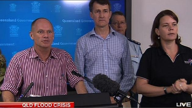 Campbell Newman press conference