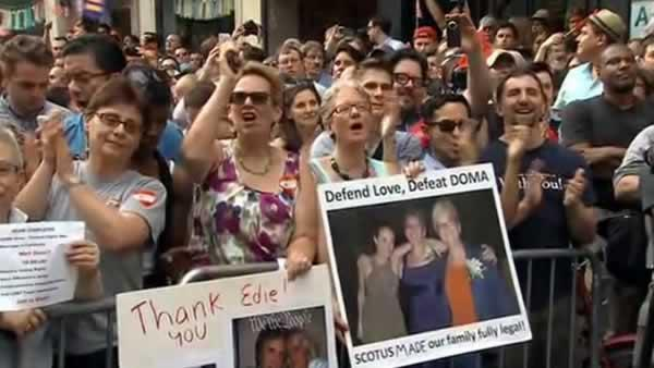 Supreme Court strikes down key part of DOMA