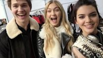 Vogue Diaries - Watch What Happens When We Give Kendall Jenner and Gigi Hadid a Selfie Stick