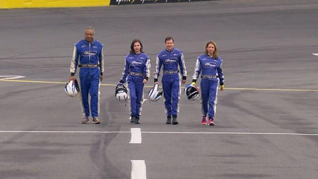 'GMA' Gang Gets the NASCAR Experience