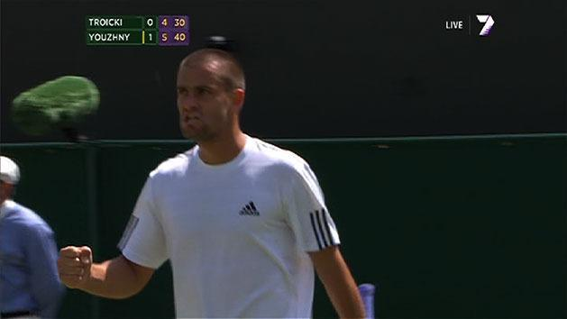 Highlights: Youzhny v Troicki