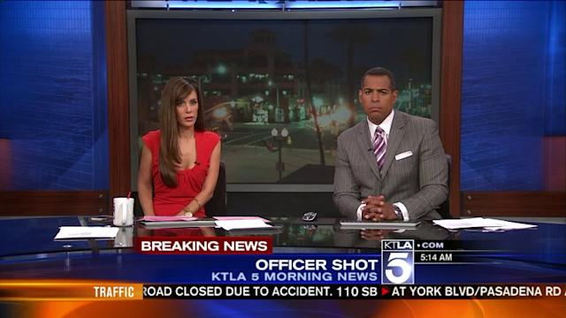 Reports: Two Officers Shot Near LAPD Wilshire Station