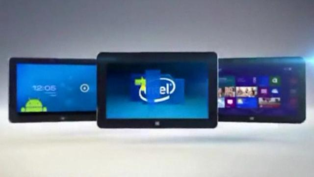 Intel pins hopes on tablets, wearable tech