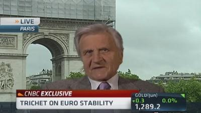 Trichet: Euro resilience remarkable