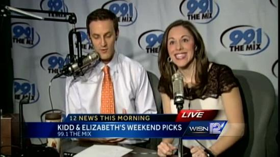 Weekend picks with Kidd and Elizabeth