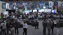 Super Bowl XLVII Radio Row quirkiness