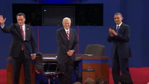 President Obama and Mitt Romney debate foreign policy