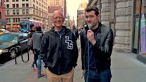 Billy Eichner and David Letterman On The Street