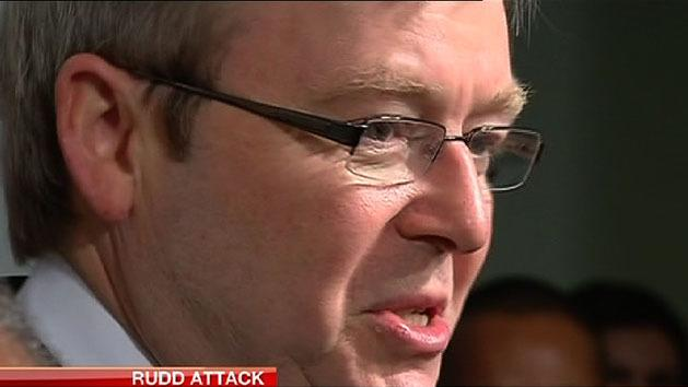 Rudd says Labor Party is 'sick'