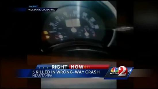 3 students from central Florida die in wrong-way crash