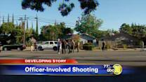 Officer involved shooting in Visalia