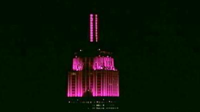 Empire State Building gets LED treatment