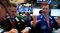 Investors Weigh Better than Expected Economic Reports in Midday Trading