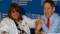 CDC Director Receives Flu Shot to Bring Awareness to Flu Season
