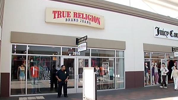 Thieves target True Religion jeans