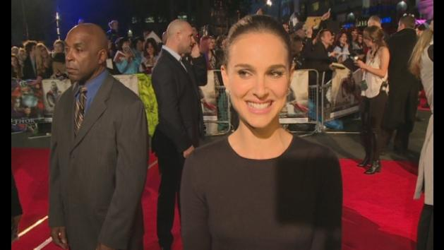 EXCLUSIVE: Natalie Portman interview on red carpet of Thor 2
