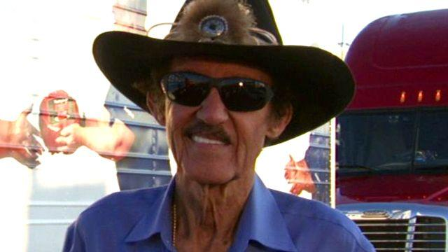 Top dog: Richard Petty's big donation
