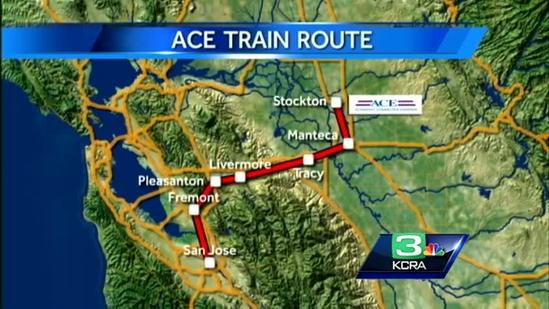 ACE ridership is up 24 percent