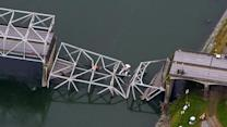 Tractor-trailer blamed for Wash. bridge collapse