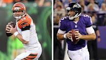 Will Joe Flacco soar past Andy Dalton?