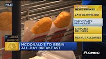 CNBC update: MCD begins all-day breakfast