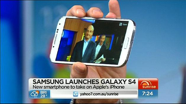 First look at Samsung S4