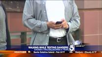 Injuries From Texting While Walking on the Rise