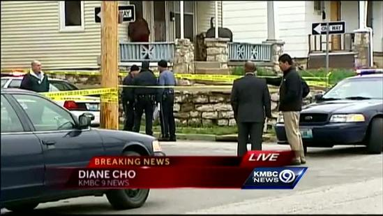KC police officer shoots driver after wreck