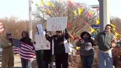 Counter Protest Planned During Edwards Funeral