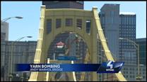 Warhol Bridge readies for 'yarn bombing'