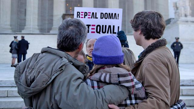 Supreme Court hears case on Defense of Marriage Act: Majority of justices skeptical