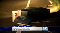 ATM Found Lying On Garden Highway