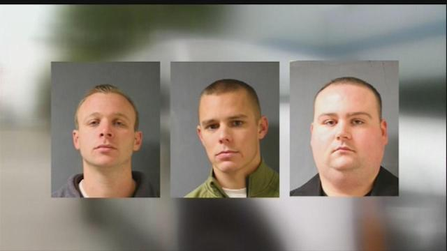 Three Webster officers accused of official oppression