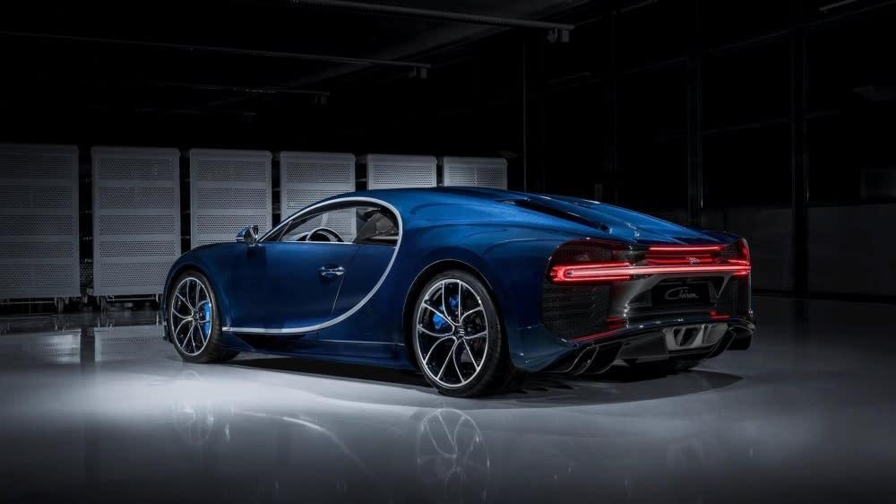Bugatti Chiron擁有1,500匹馬力,可說是超性能跑車代名詞,日前抵台也引起跑車迷一陣騷動。(圖片來源:https://www.bugatti.com/chiron/)