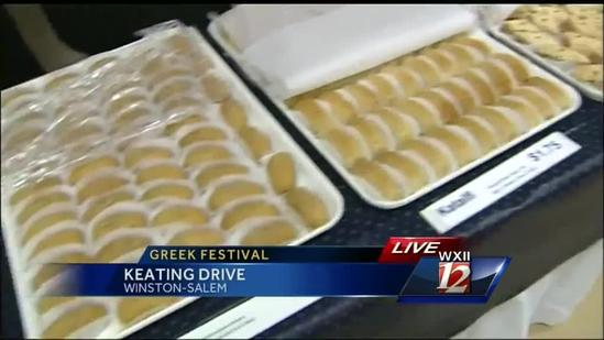 The Greek Festival starts in Winston-Salem