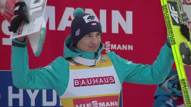 Stoch reclaims yellow bib after Lahti ski jumping victory