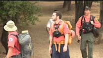 Hiker Rescued after Night on Mountain