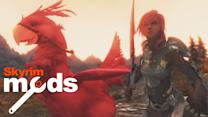 Lightning and Chocobos bring Final Fantasy to Skyrim - Top 5 Skyrim Mods of the Week