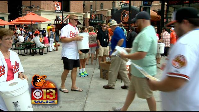 WJZ Teaming Up With The Orioles And MASN For Annual Food Drive