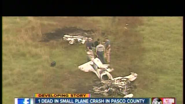 Cessna plane crashes in Land O' Lakes