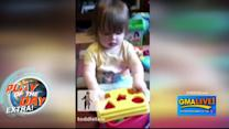 Clever Baby Finds Puzzle Shortcut