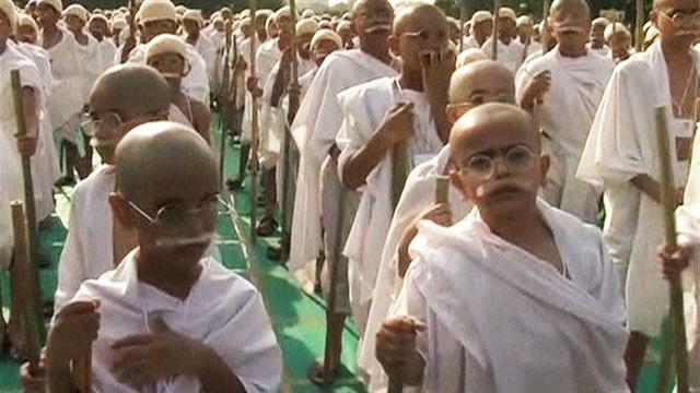India celebrates Gandhi's 143rd birthday