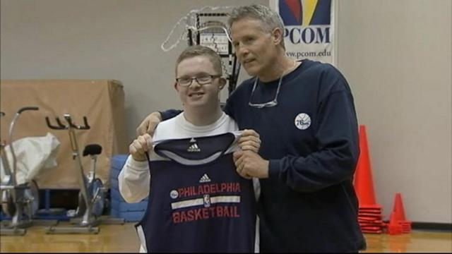 Teen With Down Syndrome Inks 2-Day NBA Deal