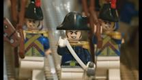 Lego exhibition depicting the life of Napoleon in Waterloo