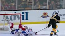 Price extends to stop Lucic on the doorstep
