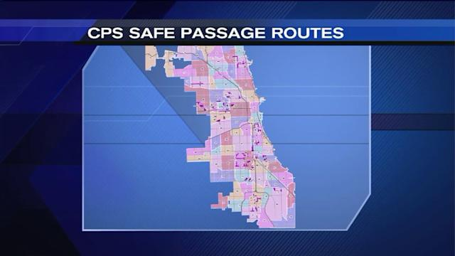 CPS unveils safe passage routes for school year