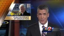 President Bill Clinton speaks to UCF graduates